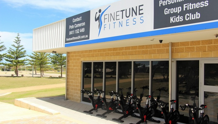 Fine Tune Fitness outside