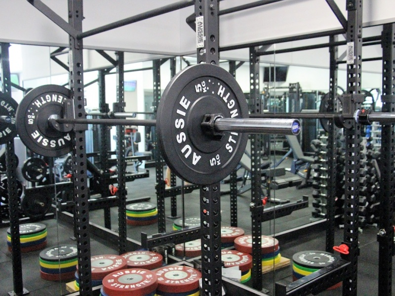 Fine Tune Fitness squat rack